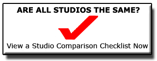 Are all studios the same? View a studio comparison checklist now.